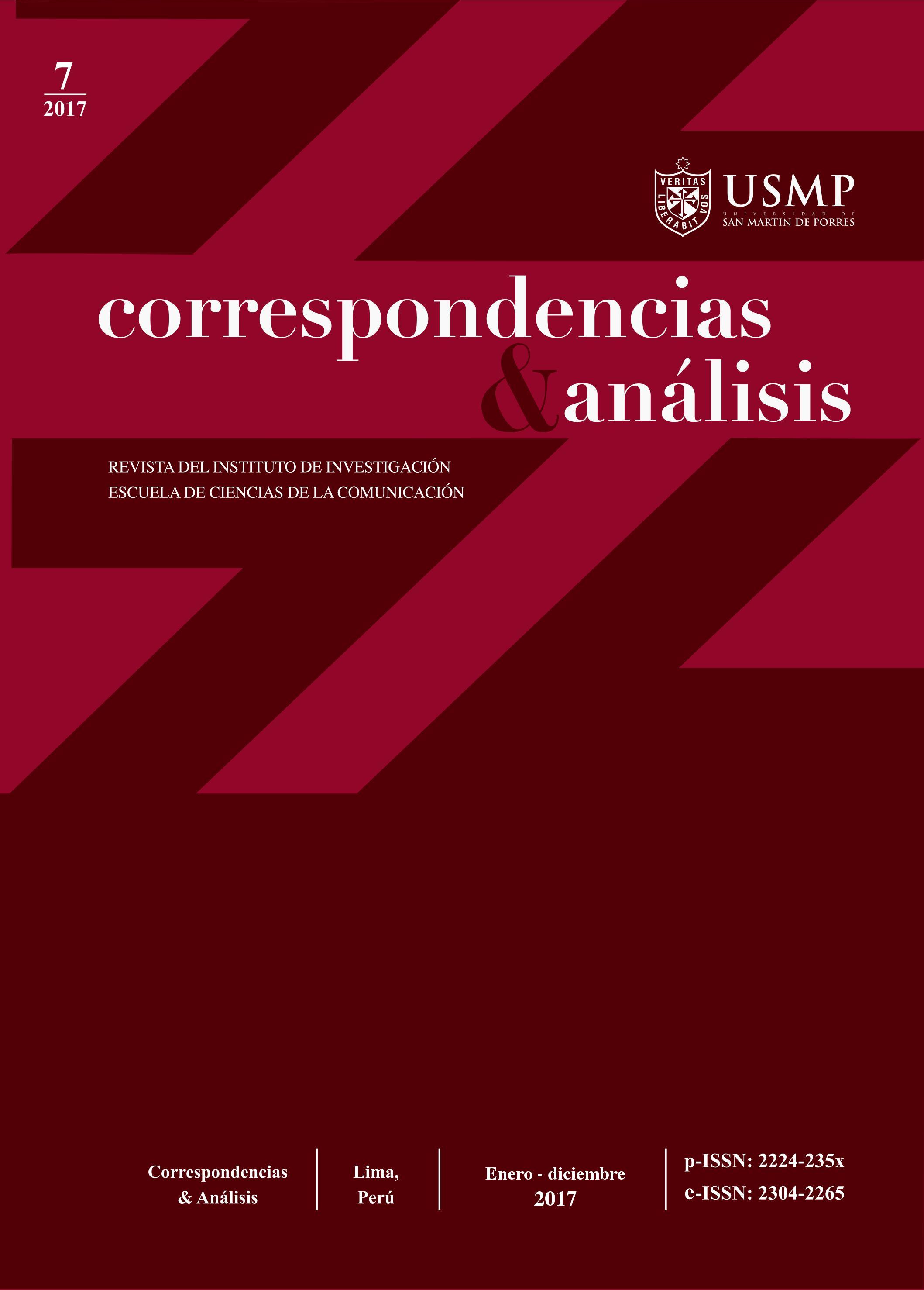 Revista Correspondencias & análisis N°7 2017 (ene. - dic.)
