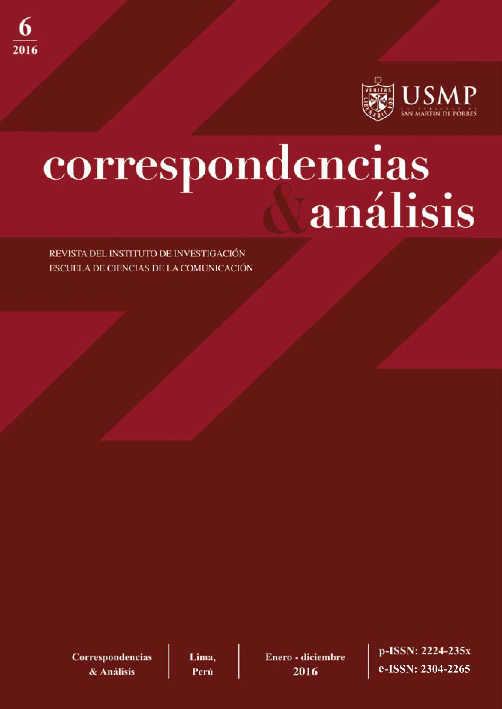 Revista Correspondencias & análisis N°6 2016 (ene. - dic.)