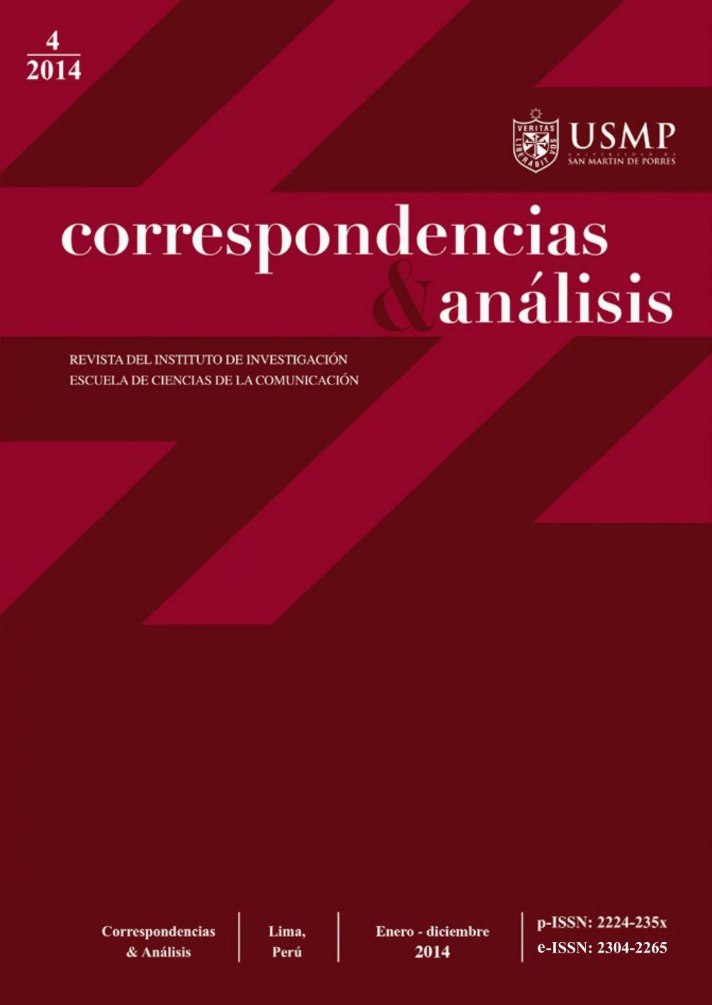 Revista Correspondencias & análisis N°4 2014 (ene. - dic.)