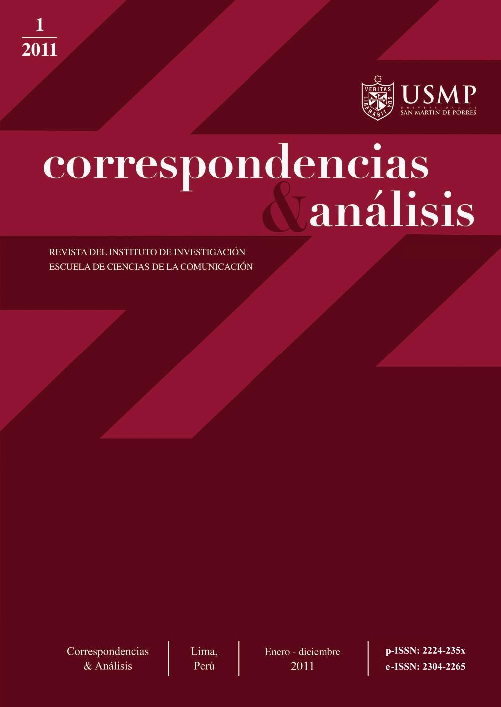 Revista Correspondencias & análisis N°1 2011 (ene. - dic.)