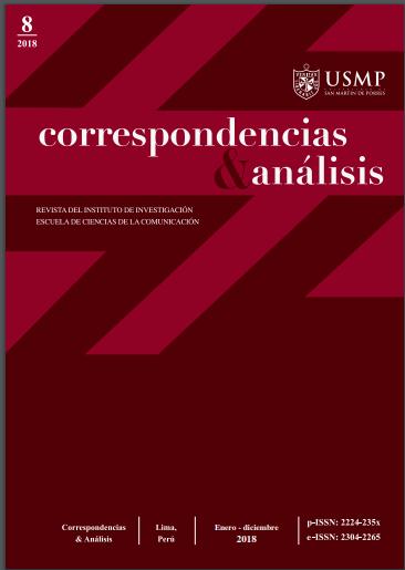 Revista Correspondencias & análisis N°8 2018 (ene. - dic.)